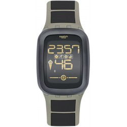 Kaufen Sie Swatch Herrenuhr Digital Touch Zero One Earthzero SUVT100