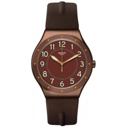 Swatch Herrenuhr Irony Big Classic Copper Time YWC100 kaufen