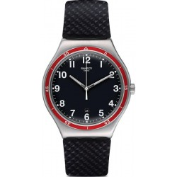 Swatch Herrenuhr Irony Big Classic Red Wheel YWS417
