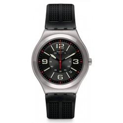 Kaufen Sie Swatch Herrenuhr Irony Big Classic Black Grid YWS444