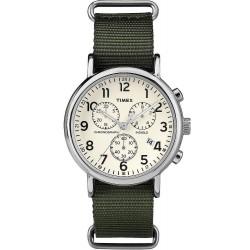 Timex Herrenuhr Weekender Chronograph Quartz TW2P71400