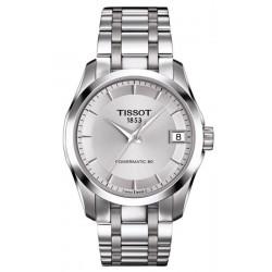 Kaufen Sie Tissot Damenuhr T-Classic Couturier Powermatic 80 T0352071103100
