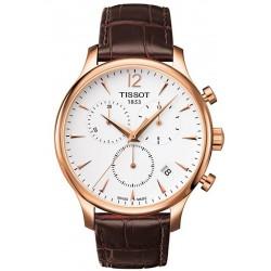 Tissot Herrenuhr T-Classic Tradition Chronograph T0636173603700