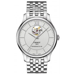 Tissot Herrenuhr Tradition Powermatic 80 Open Heart T0639071103800